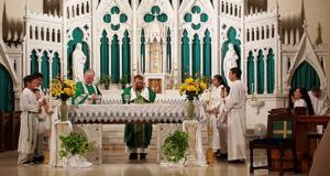 St Anne Altar Rededication